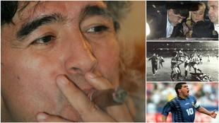 Las confesiones de Maradona para lo bueno... y para lo malo