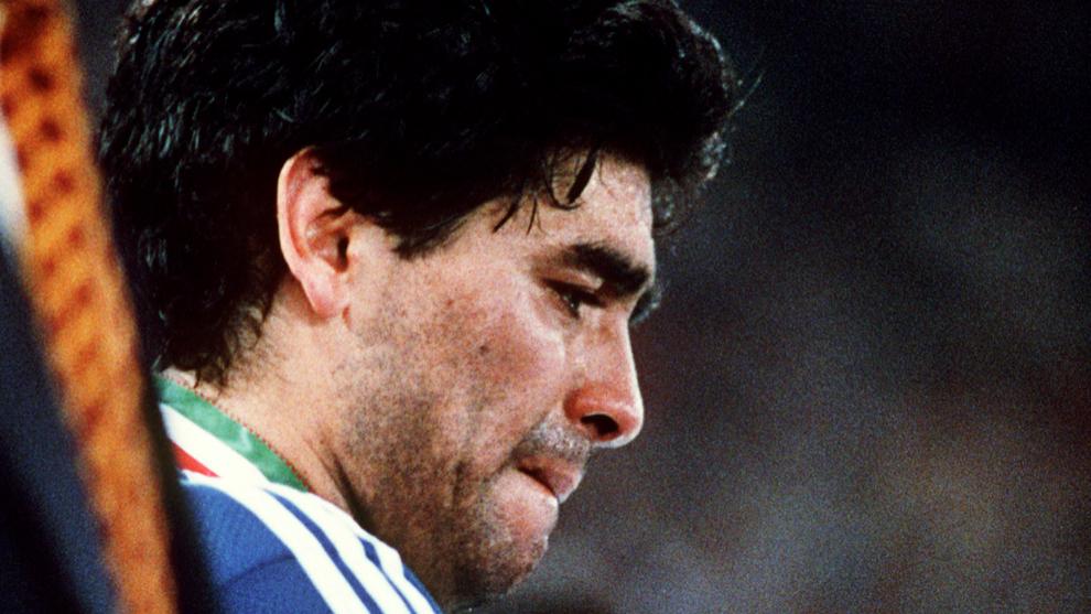 Argentina, durante el Mundial de Italia 1990