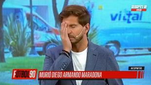 Así se recibió en directo la muerte de Maradona: lágrimas, silencio, conmoción...