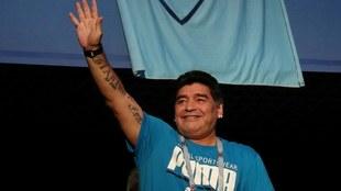 Películas, documentales y series sobre Maradona.