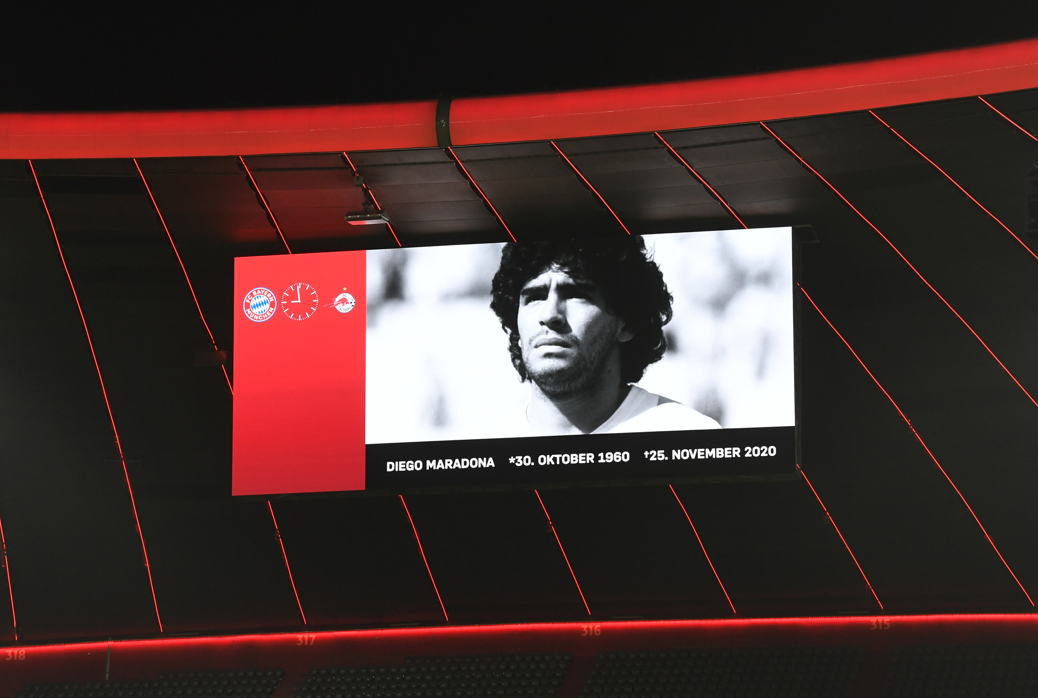 La Champions League se rinde a Diego Armando Maradona