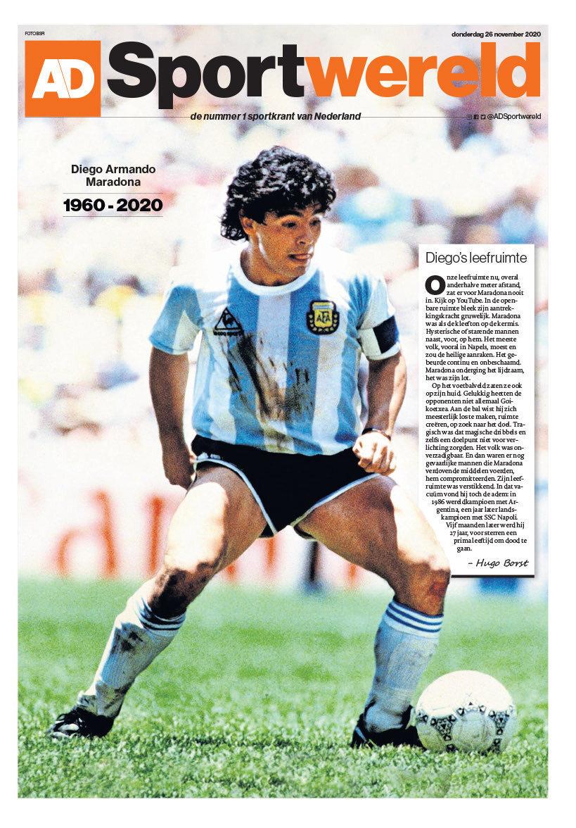 Fallece Diego Armando Maradona al sufrir un paro cardíaco  16063465990656