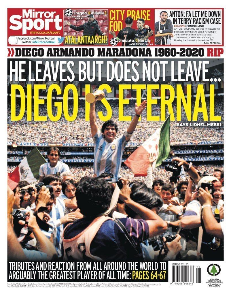 Fallece Diego Armando Maradona al sufrir un paro cardíaco  16063466005987
