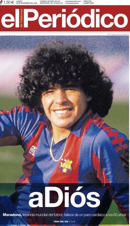 Fallece Diego Armando Maradona al sufrir un paro cardíaco  16063470565847