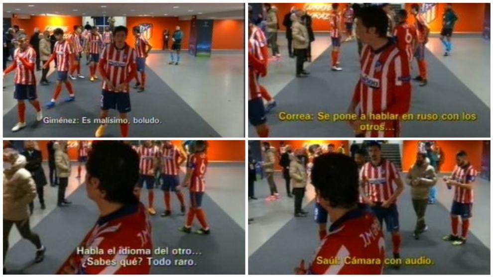 """Giménez y Correa, sobre el árbitro: """"Es malísimo... y habla en ruso con los otros"""""""