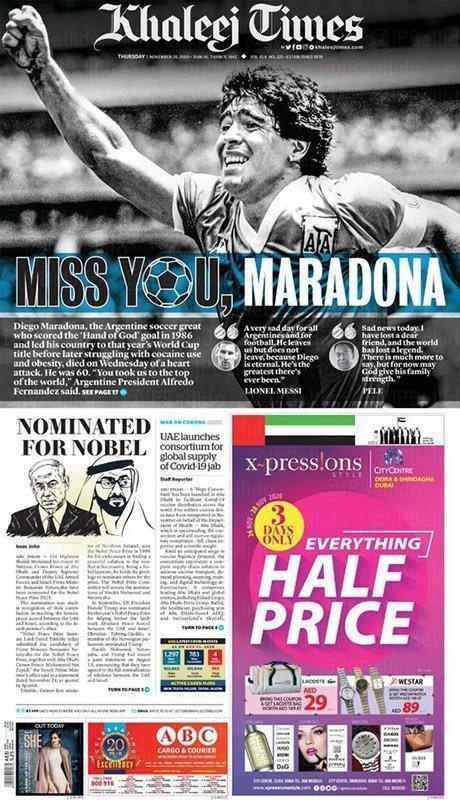 Fallece Diego Armando Maradona al sufrir un paro cardíaco  16063482858651