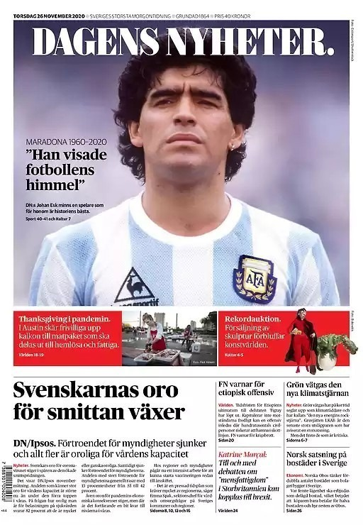 Fallece Diego Armando Maradona al sufrir un paro cardíaco  16063482863685