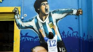 Diego Armando Maradona murió la mañana de este 25 de noviembre. |
