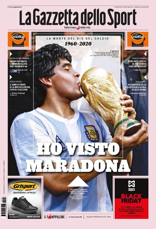 Fallece Diego Armando Maradona al sufrir un paro cardíaco  16063731092515