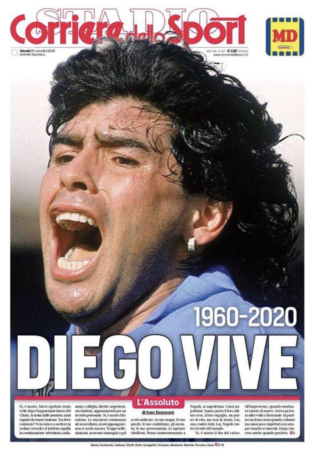 Fallece Diego Armando Maradona al sufrir un paro cardíaco  16063731099689