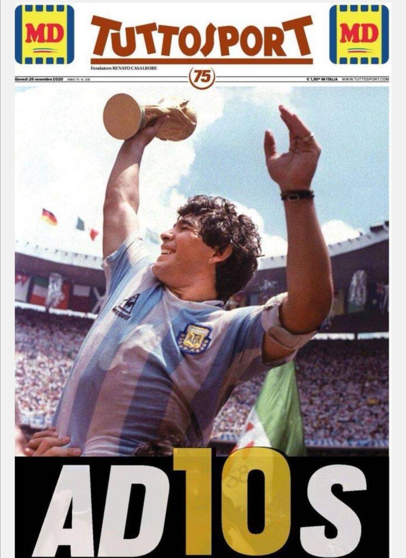 Fallece Diego Armando Maradona al sufrir un paro cardíaco  16063731107130