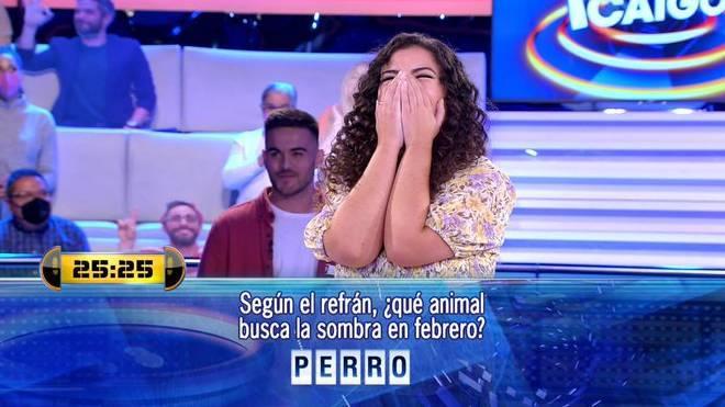 Marina se saltó una norma del concurso 'Ahora caigo'