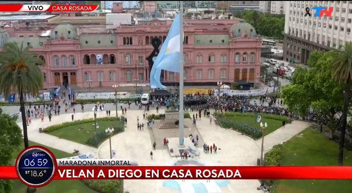 Murió Maradona: Maradona, última hora del funeral de Diego, en vivo 23