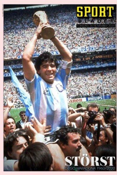 Fallece Diego Armando Maradona al sufrir un paro cardíaco  16063851272792