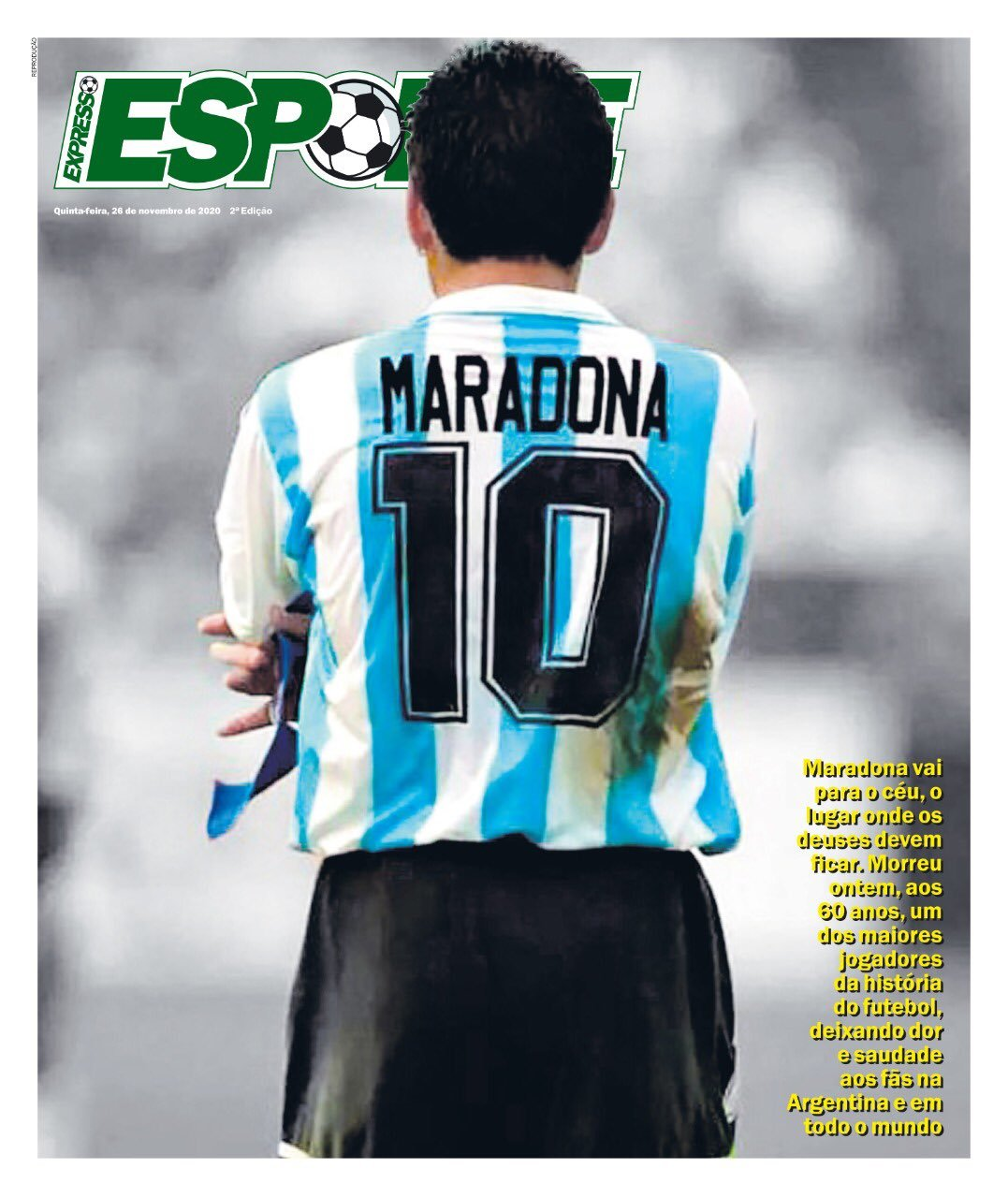 Fallece Diego Armando Maradona al sufrir un paro cardíaco  16063853492587