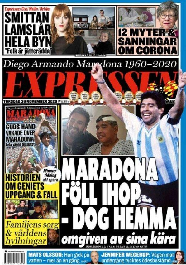 Fallece Diego Armando Maradona al sufrir un paro cardíaco  16063855735954