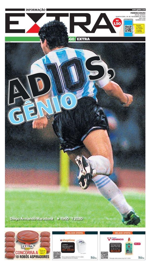 Fallece Diego Armando Maradona al sufrir un paro cardíaco  16063858938048