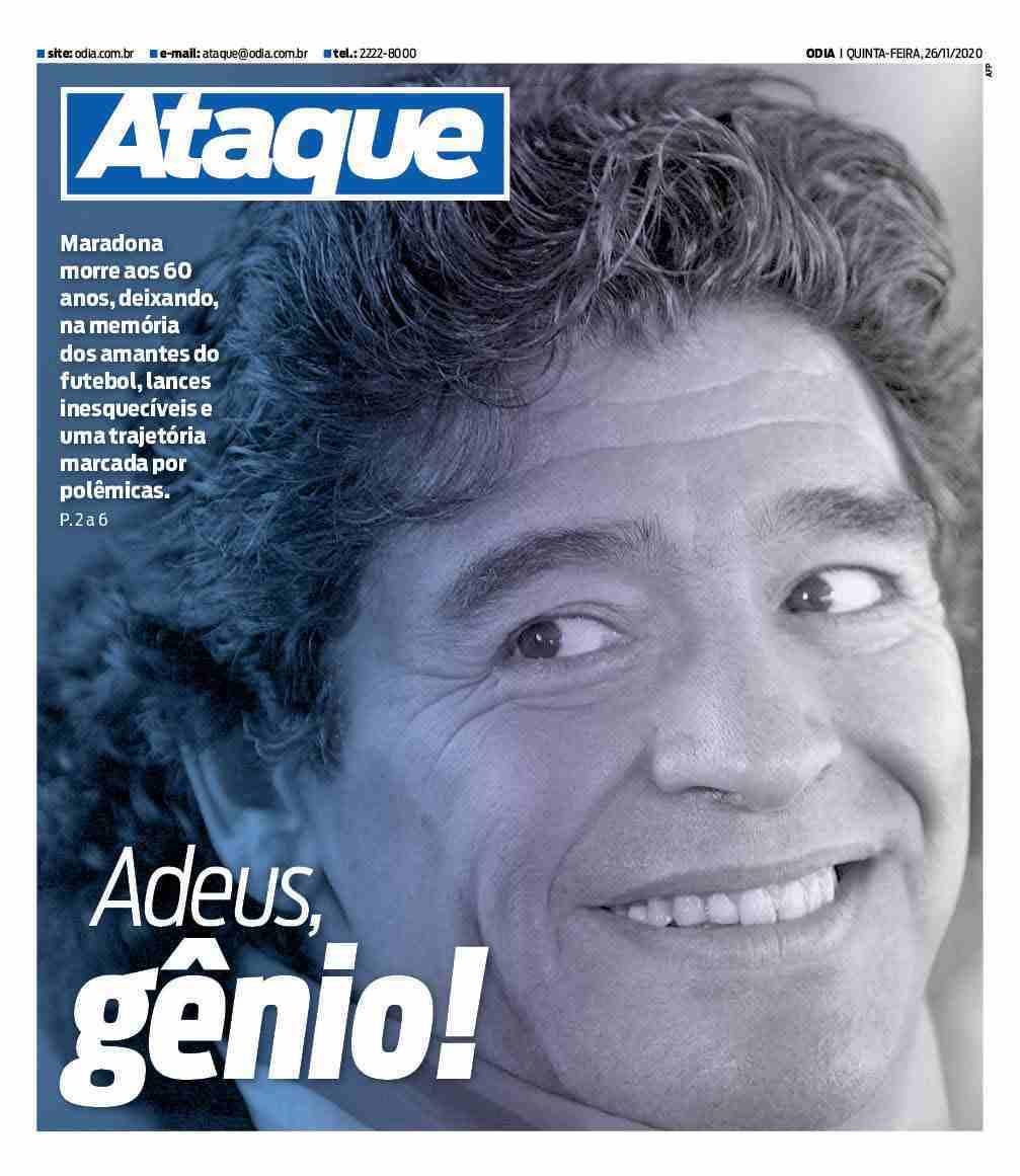 Fallece Diego Armando Maradona al sufrir un paro cardíaco  16063860380410