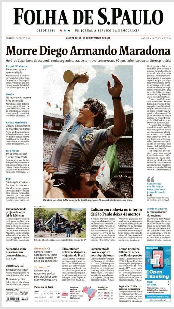 Fallece Diego Armando Maradona al sufrir un paro cardíaco  16063862486851