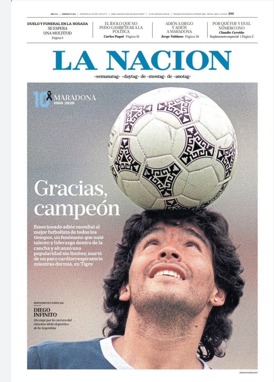 Fallece Diego Armando Maradona al sufrir un paro cardíaco  16063862763706