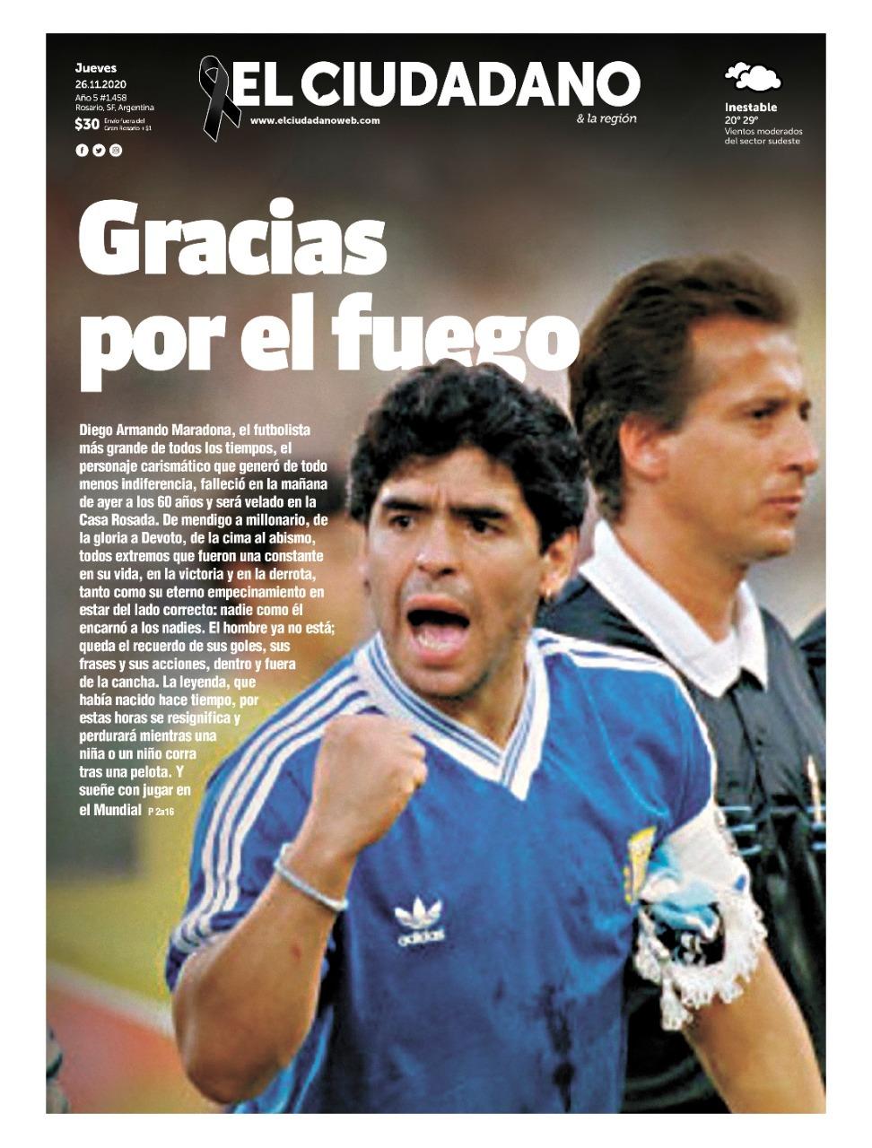Fallece Diego Armando Maradona al sufrir un paro cardíaco  16063863002800