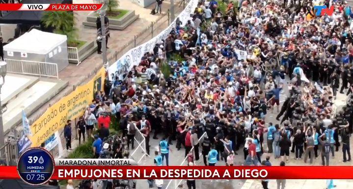 Murió Maradona: Maradona, última hora del funeral de Diego, en vivo 22