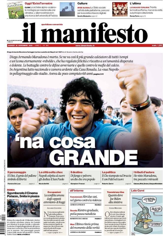 Fallece Diego Armando Maradona al sufrir un paro cardíaco  16063866932442