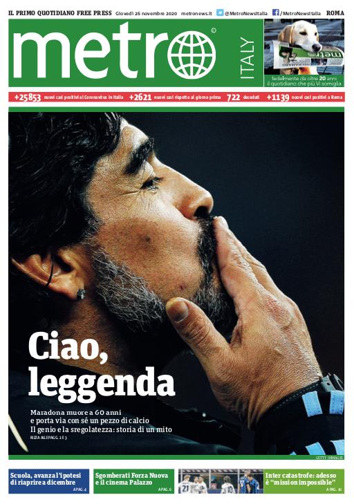 Fallece Diego Armando Maradona al sufrir un paro cardíaco  16063867223695