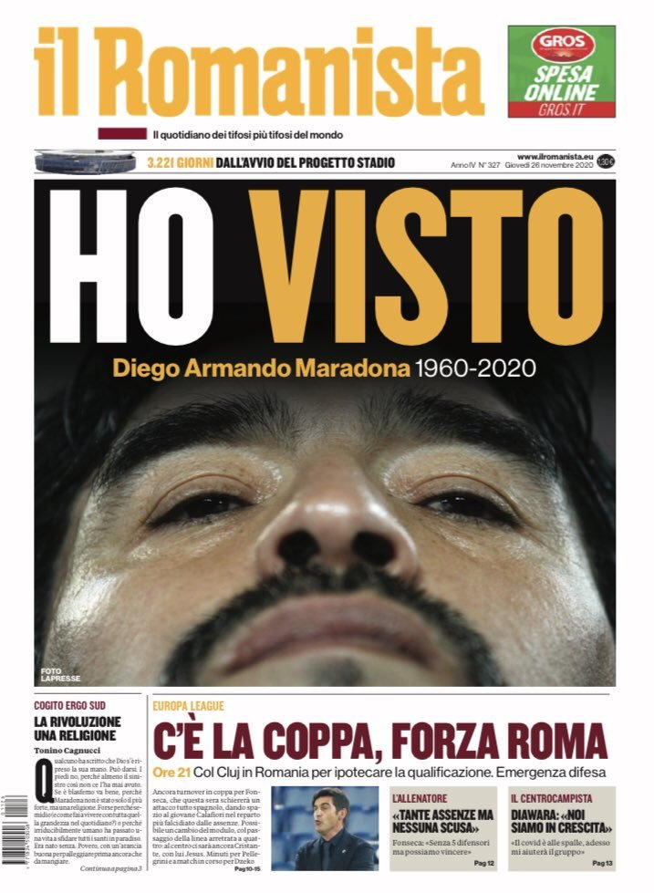 Fallece Diego Armando Maradona al sufrir un paro cardíaco  16063870086463