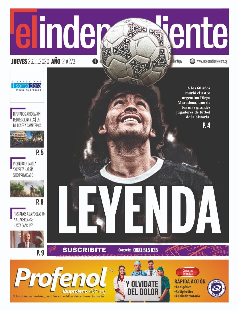 Fallece Diego Armando Maradona al sufrir un paro cardíaco  16063870335655