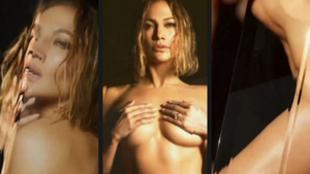 Desnudo integral de Jennifer Lopez para su disco In The Morning