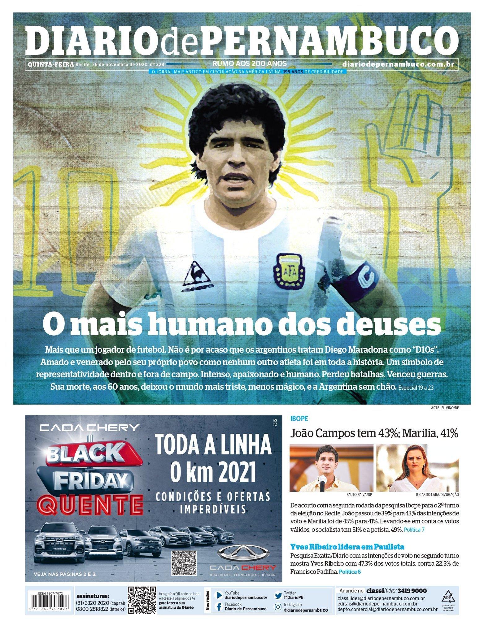 Fallece Diego Armando Maradona al sufrir un paro cardíaco  16063881088694