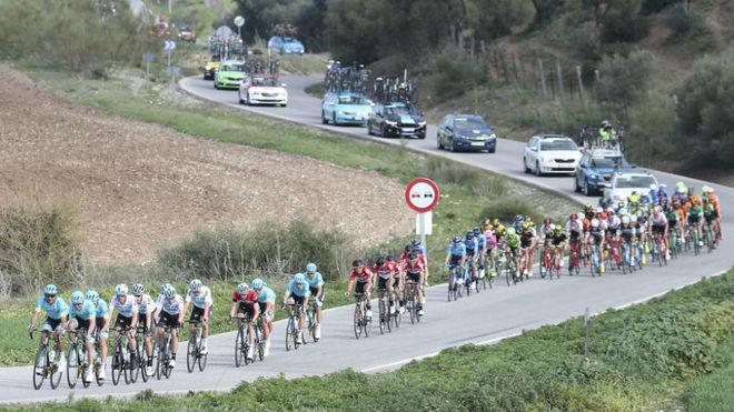 Una edición pasada de la Vuelta a Andalucía.