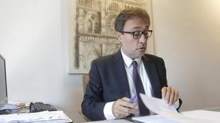 Agustí Benedito, en su despacho.
