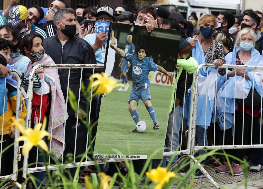Murió Maradona: Maradona, última hora del funeral de Diego, en vivo 15