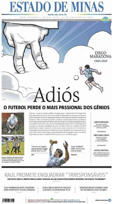 Fallece Diego Armando Maradona al sufrir un paro cardíaco  16063960618613