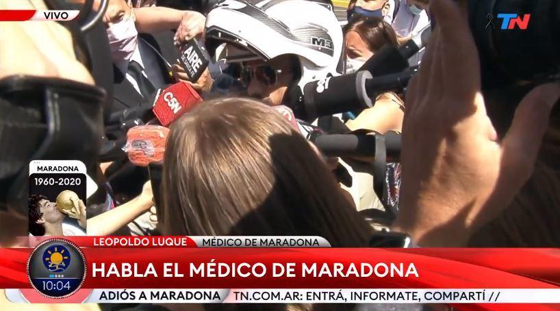 Murió Maradona: Maradona, última hora del funeral de Diego, en vivo 14