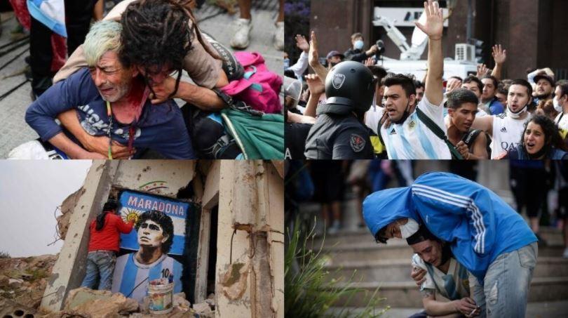 Murió Maradona: Maradona, última hora del funeral de Diego, en vivo 13