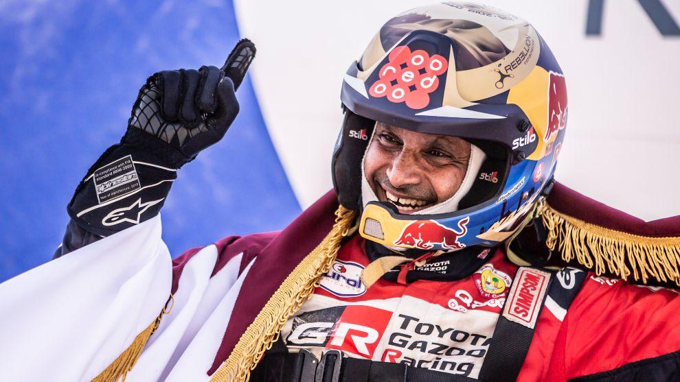 """Nasser Al-Attiyah se ve favorito: """"Respeto a Sainz, pero yo siempre estoy fuerte en el Dakar"""""""