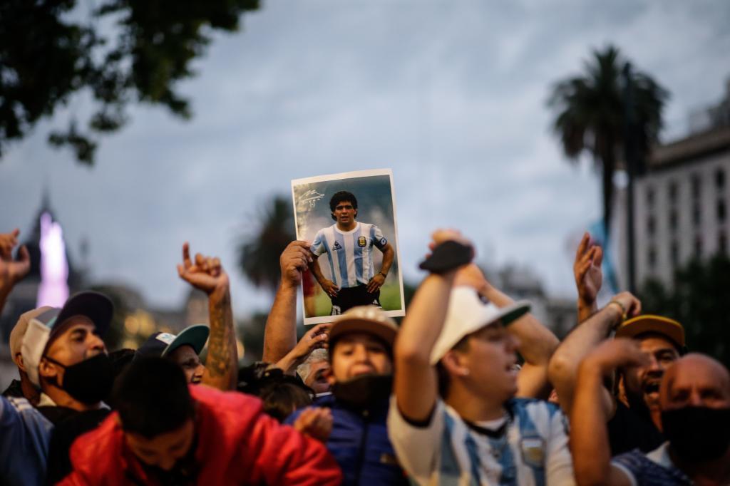 Murió Maradona: Maradona, última hora del funeral de Diego, en vivo 11