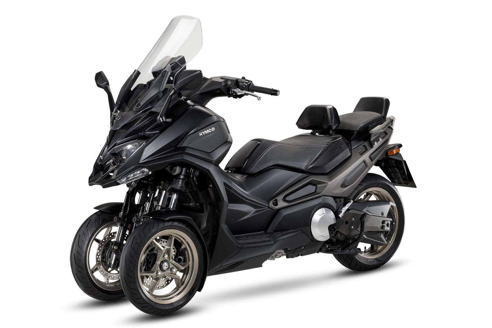 Kymco CV3: el primer scooter Kymco de tres ruedas.