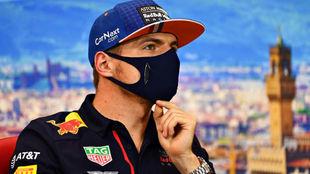 Max Verstappen, durante un Gran Premio de esta temporada.