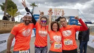 Participantes en la pasada edición del Ibiza Marathon.