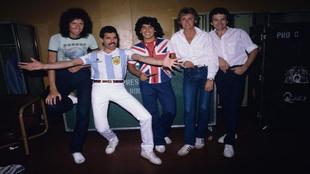 Así fue la histórica reunión de Diego Maradona con Queen: Fotos