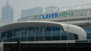 La entrada de la Rod Laver Arena