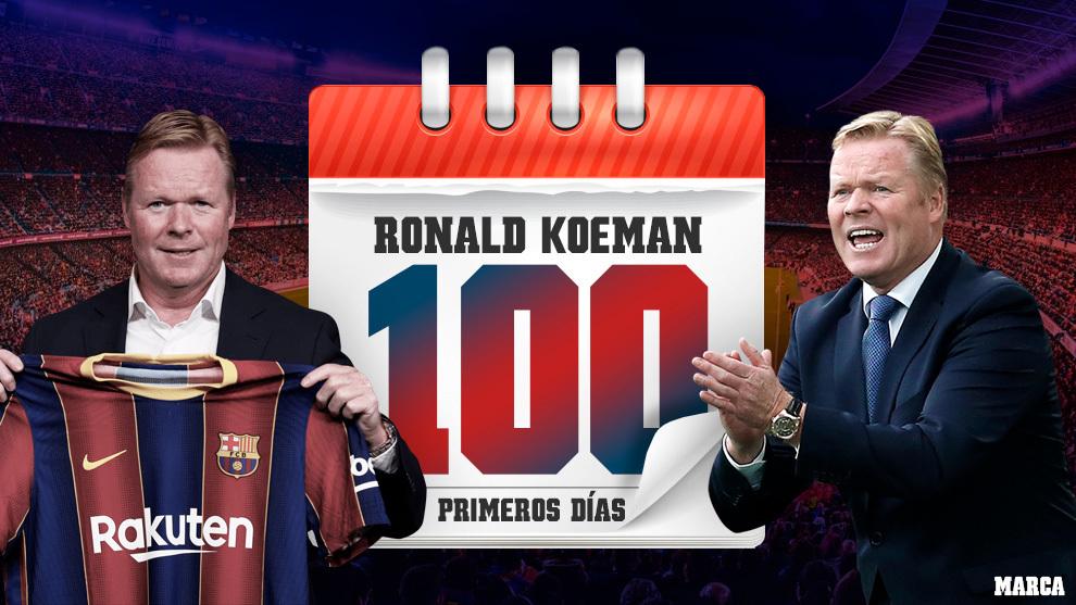 100 días con Koeman