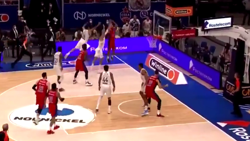 Un milagro a dos segundos del final de Mike James ejecuta al Real Madrid post Campazzo