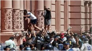 """""""Acá adentro hay heridos"""": las imágenes de la vergüenza"""