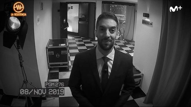 David Broncano, presentador de La Resistencia.
