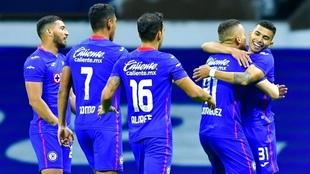 La Máquina vistia a Tigres en la ida de cuartos de final  